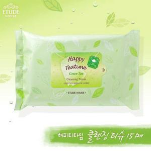 Happy Teatime Cleansing Tissue Green Tea