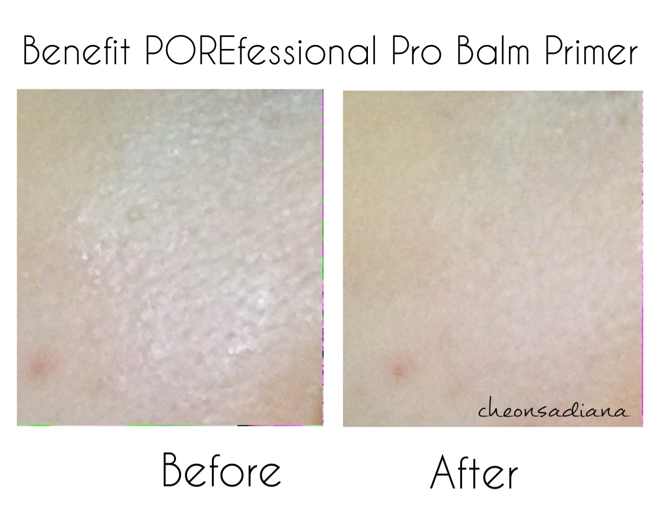 Review Before After Benefit Porefessional Pro Balm Primer Image